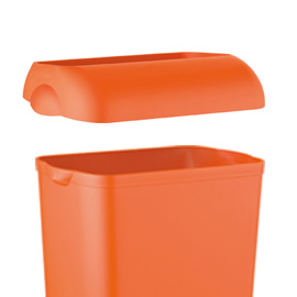 Coperchio per cestino gettacarte 23lt orange soft touch