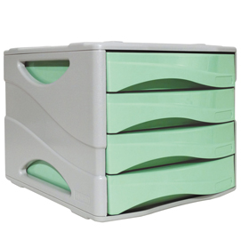 Cassettiera Keep Colour Pastel VERDE Arda