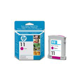 Cartuccia a getto d'inchiostro hp n.11 magenta 28ml