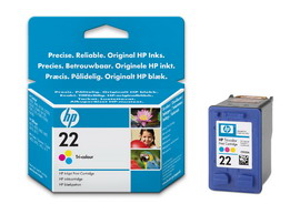 CARTUCCIA A GETTO D'INCHIOSTRO HP 22XL TRICROMIA