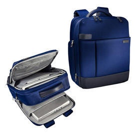 "Zaino smart traveller per pc 15,6"" blu leitz complete"